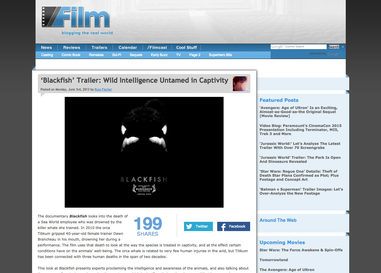 Film Blackfish